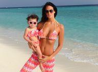 Jade Foret : Sa petite Liva fait tout comme elle durant leur séjour aux Maldives