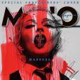 """Madonna en couverture du magazine britannique """"Mojo"""", janvier 2015."""