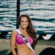 Chanel Beckenlehner défile à la U.S. Century Bank Arena, à Miami, Floride, le 21 janvier 2015 pour Miss Univers 2015