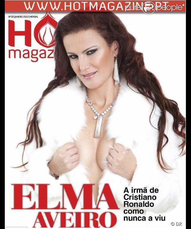 Elma Aveiro pose pour le magazine HotMagazine
