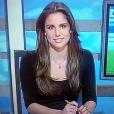 La superbe Lucia Villalon, journaliste de Real Madrid TV et nouvelle compagne supposée de Cristiano Ronaldo - 2015