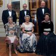 La princesse Astrid de Norvège lors de son 80e anniversaire le 12 février 2012, avec son mari Johan Martin Ferner derrière elle, entourés de la princesse Ragnhild et son mari Erling Lorentzen et de la reine Sonja et du roi Harald V.  La Maison royale de Norvège a annoncé le 24 janvier 2015 le décès de Johan Martin Ferner, époux de la princesse Astrid et beau-frère du roi Harald V de Norvège, à l'âge de 87 ans.