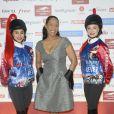 Christine Kelly assiste à la soirée de Gala du Prix d'Amérique Opodo à la Maison de l'UNESCO à Paris le 24 janvier 2015.