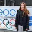 Exclusif -  La princesse Alexandra de Hanovre lundi 26 janvier 2015 au   Festival olympique de la jeunesse européenne (FOJE) d'hiver 2015 à Dornbirn, en Autriche.