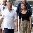 Roman Abramovitch et sa compagne Dasha Zhukova en vacances à Portofino en Italie le 2 septembre 2013.