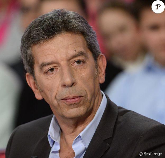 Michel Cymes - Enregistrement de l'émission Vivement Dimanche à Paris le 28 janvier 2015.