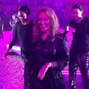 Kylie Minogue entourée des Bleus: Show et fête surprise au Mondial de handball