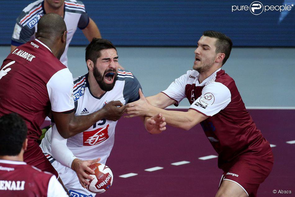 Nikola karabatic pendant la finale de la coupe du monde de - Diffusion coupe du monde de handball 2015 ...
