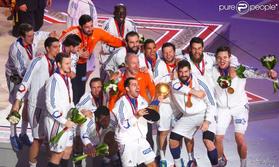 Les bleus f tent la victoire en coupe du monde de handball - Diffusion coupe du monde de handball 2015 ...