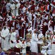 Finale de la Coupe du monde de hand à Doha le 1er février 2015.