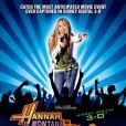 Affiche du film-concert Hannah Montana/Miley Cyrus: Best of Both Worlds Concert Tour.