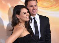 Mila Kunis top et sexy : La jeune maman brille au côté de Channing Tatum in love