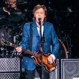 Paul McCartney en concert à Sau Paulo au Brésil, le 25 novembre 2014.