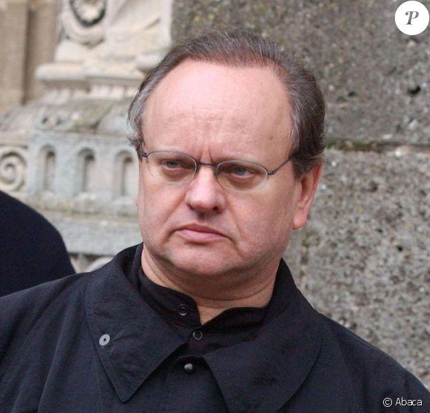 Joël Robuchon à Saulieu, le 28 février 2003.