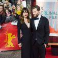 """Dakota Johnson et Jamie Dornan - Premiere du film """"Cinquante Nuances de Grey"""" lors du 65e festival international du film de Berlin (Berlinale 2015) le 11 février 2015."""