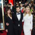 """Dakota Johnson, Jamie Dornan, Sam Taylor-Johnson - Premiere du film """"Cinquante Nuances de Grey"""" lors du 65e festival international du film de Berlin (Berlinale 2015) le 11 février 2015."""