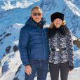 """Daniel Craig et Léa Seydoux - Photocall avec les acteurs du prochain film James Bond """"Spectre"""" à Solden en Autriche, le 7 janvier 2015."""