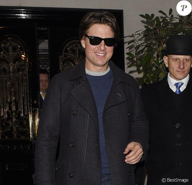 Tom Cruise à Londres, le 11 février 2015.