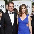 Cindy Crawford et son mari Rande Gerber aux Golden Globe Awards à Beverly Hills, le 11 janvier 2015.