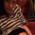 David Gardner postait le 9 février 2015, deux jours avant la naissance, une photo de Liv Tyler enceinte.