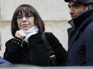 Obsèques de Corinne Le Poulain : La famille et Danièle Evenou dans le chagrin