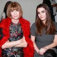 Anna Wintour et sa fille Bee Shaffer ont assisté au défilé Rag & Bone à New York le 16 février 2015