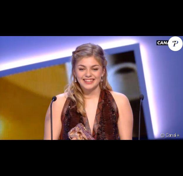 Louane Emera César du meilleur espoir pour La Famille Bélier