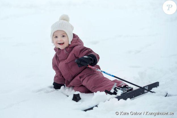 La princesse Estelle de Suède, photographiée pour ses 3 ans (le 23 février 2014) par Kate Gabor.