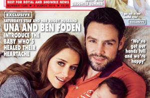 Ben et Una Foden (The Saturdays) : Premières photos de leur fils Tadhg