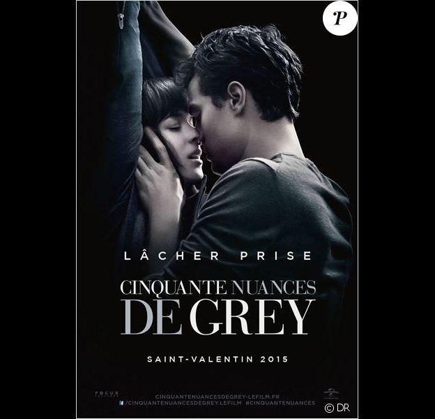 Affiche du film 50 Shades of Grey (Cinquante Nuances de Grey)