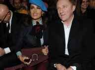 Fashion Week : Salma Hayek et son mari, amoureux de la mode italienne