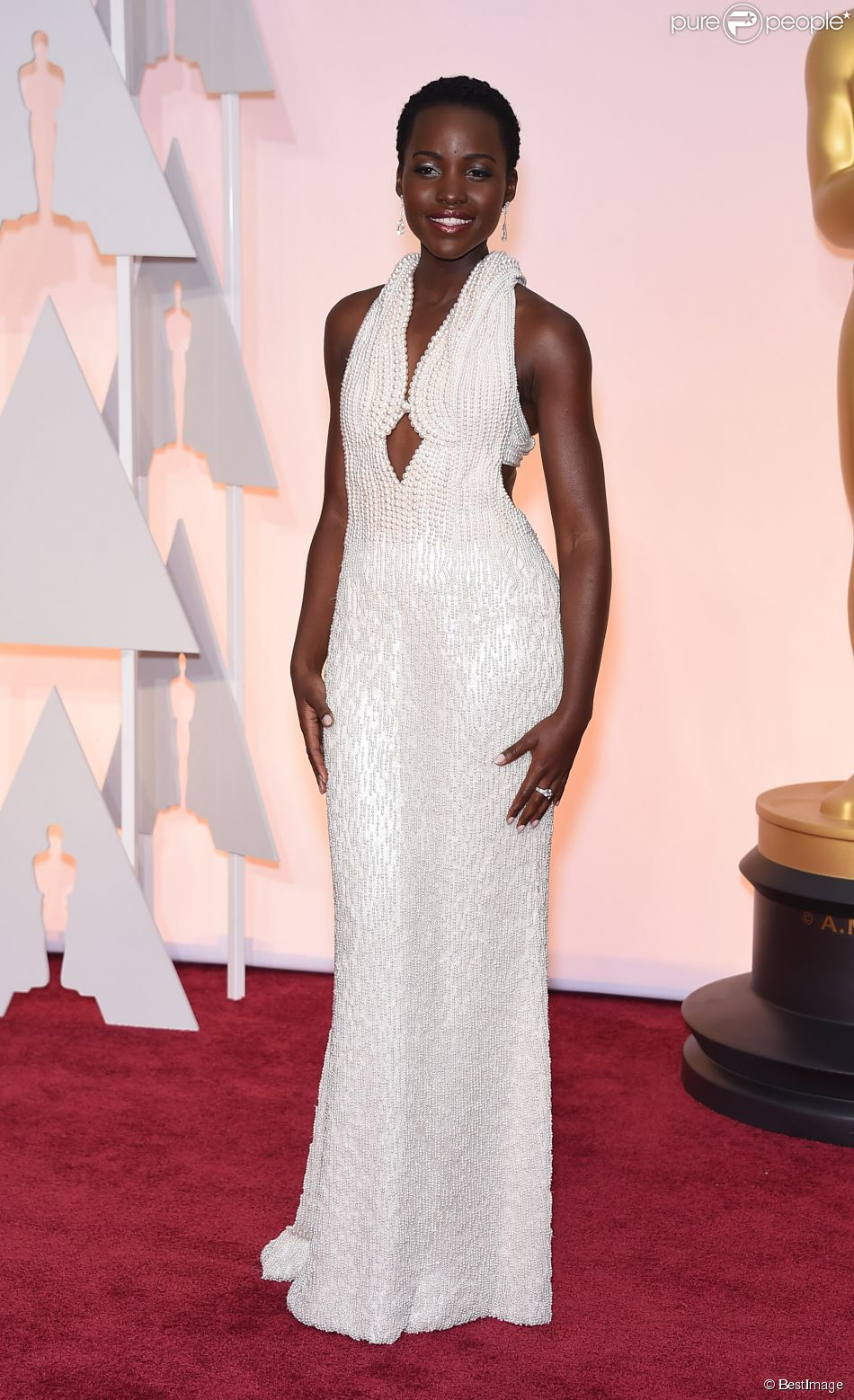 Lupita Nyong'o à la 87ème cérémonie des Oscars à Hollywood le 22 février 2015 23 February 2015.