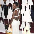 Lupita Nyong'o lors de la 87ème cérémonie des Oscars à Hollywood, le 22 février 2015.