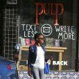 Exclusif - Lupita Nyong'o va déjeuner avec une amie qui ressemble étrangement à Kris Jenner, à West Hollywood, le 14 janvier 2015.