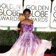 Lupita Nyong'o à la 72ème cérémonie annuelle des Golden Globe Awards à Beverly Hills. Le 11 janvier 2015