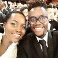 Lupita Nyong'o a ajouté une photo à son compte Instagram le soir de la cérémonie des Oscars le 23 février 2015