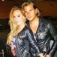 Romain Rey-Chavent et sa femme,Zsanett : fous d'amour