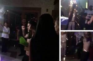 Justin Bieber : Il arrose de champagne ses 21 ans avec Hailey Baldwin