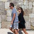 Rande Gerber et Cindy Crawford se baladent à Cabo san Lucas le 1er janvier 2015