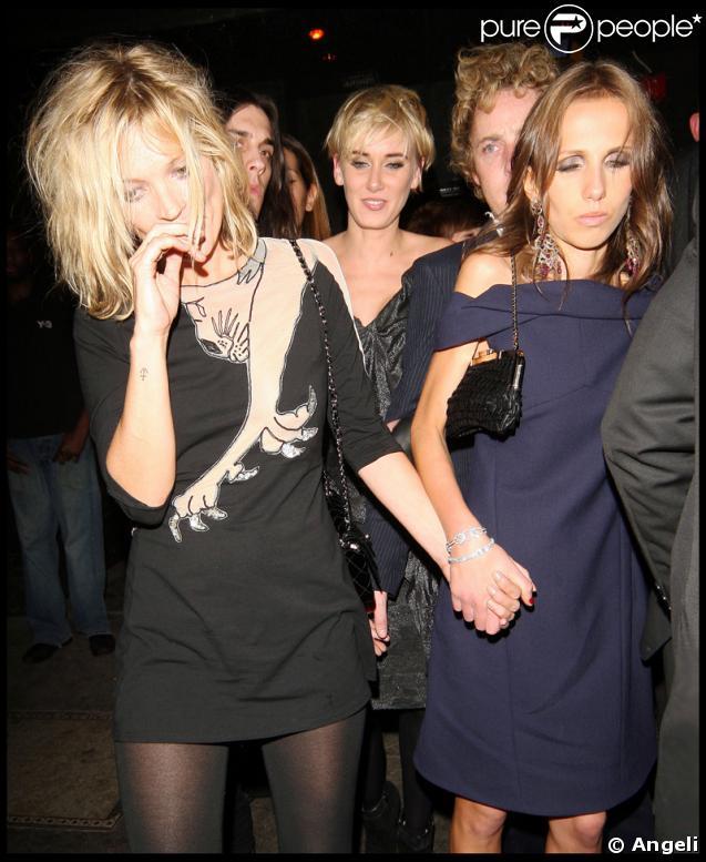 Kate Moss, Allegra Versace et Kimberly Stewart