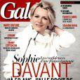 Sophie Davant en couverture de Gala, le 4 mars 2015