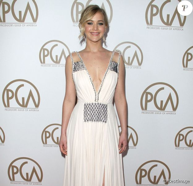 "Jennifer Lawrence à la 26ème soirée annuelle de ""Producers Guild Of America Awards"" à Century City, le 24 janvier 2015"