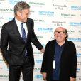 """George Clooney, Danny DeVito - Soirée """"SeriousFun Children's Network"""" pour rendre hommage à Paul Newman le 2 mars 2015"""
