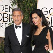 George Clooney et Amal : ''Ma femme est la plus futée de nous deux''
