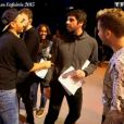 Dans les coulisses des préparations du spectacle des Enfoirés 2015. Le concert sera diffusé le vendredi 13 mars à 20h55 sur TF1. Emission  50 mn inside , diffusée le 8 mars 2015 sur TF1.