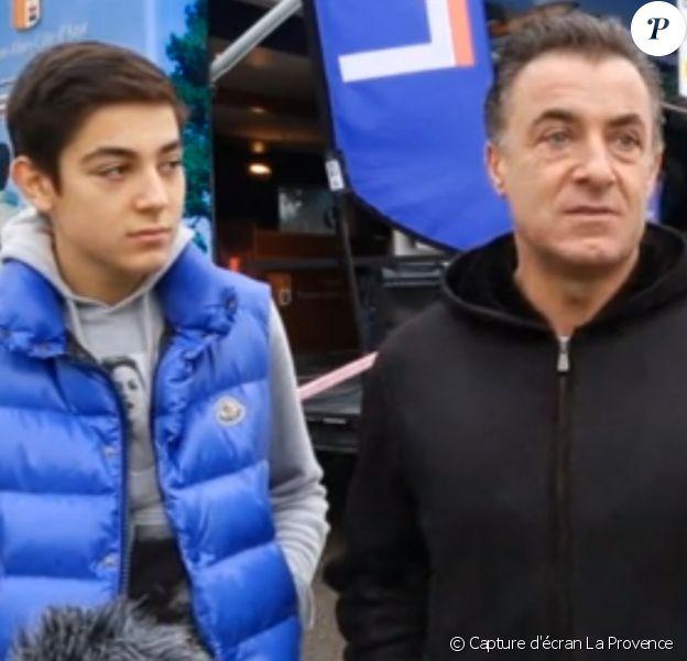 Giuliano Alesi et son père Jean - 2014