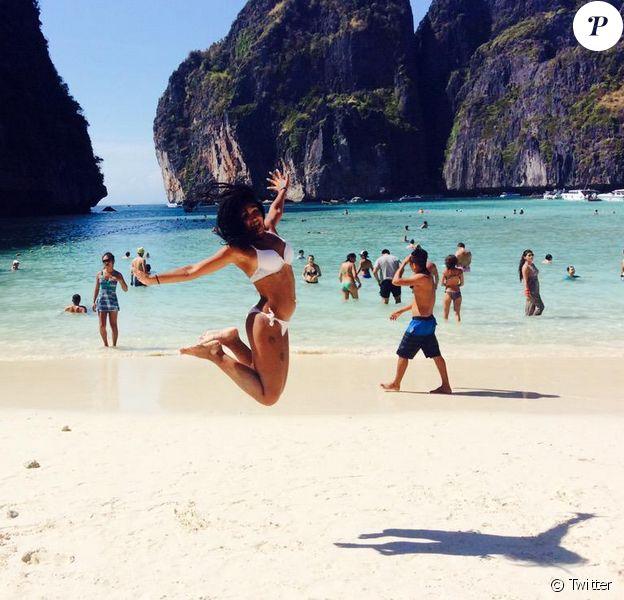 Jessica (Secret Story 8, Les Anges 7) : sublime en Thailande, en mars 2015