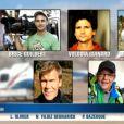 Denis Brogniart rend hommages aux membres de l'équipe de production ALP décédés dans la nuit du 9 au 10 mars 2015 sur le tournage de Dropped en Argentine, dans le JT de 20H de TF1, le 10 mars 2015