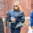 Chloë Sevigny se promène avec des amis à New York, le 15 décembre 2014.