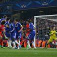 David Luiz lors du huitième de finale entre Chelsea et le PSG, le 11 mars 2015 à Londres